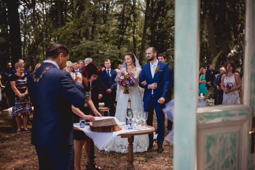 Svatba vlese