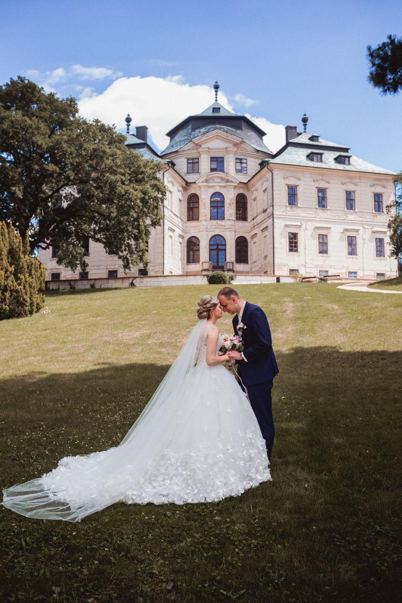 Svatba zámek Choceň